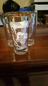 50TH WEDDING ANNIVERSARY GLASSES