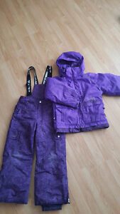Girls size 7 crush snow suit
