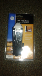 GE Door stop alarm - brand new - paid $50 - asking $10