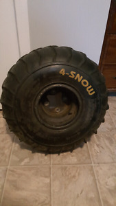 Fors now 4 snow rimes suzuki ltz400