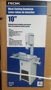 Band saw meat cutting 10''