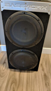 2 10inch JL subs