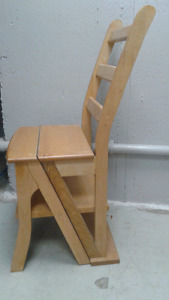 Ladder chair great condition