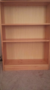 $50 EACH FOR 2 BOOKCASES