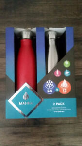 **QUICK SALE** Stainless Steel Water Bottle Gift Pack