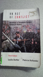 An Age of Conflict ISBN: 0-15-506358-8