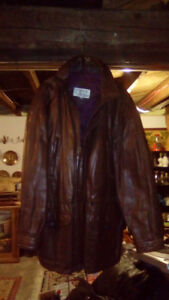 Tip top tailors leather jacket