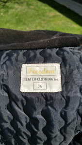 Freedom electric heated vest.