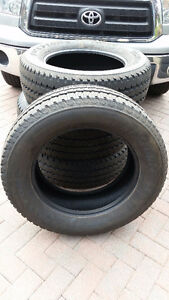 """NEW FIRESTONE A/T 20"""" TIRES. 10 PLY LOAD E. FOUR"""