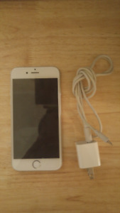Apple iPhone 6 With 16 GB Memory And Charger! Bell/Virgin!