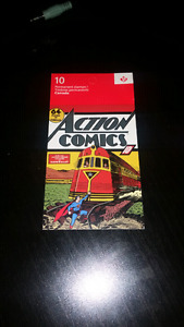 RARE SOLD OUT 75TH ANNIVERSARY SUPERMAN ACTION COMICS STAMPS!