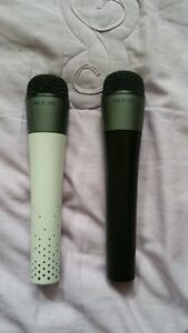 xbox 360 wireless microphone $40 each.  All 3 for $100.