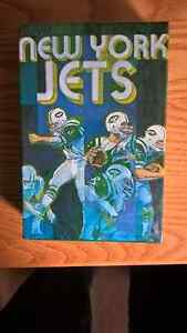 1971 New York Jets Sprinbok Jigsaw Puzzle (Joe Namath)