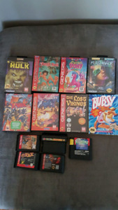 For sale sega genesis games most are complete