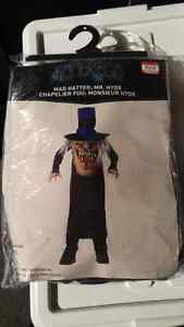 Mad Hatter Youth Costume size 12/14
