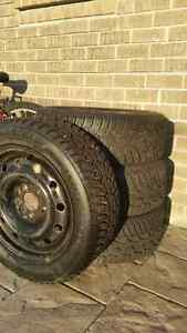 General Altimax Arctic Tires on Rims 205/55 R16 - $500 West Island Greater Montréal image 1