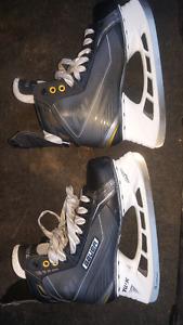 skates Bauer supreme 170.  size 9.5EE