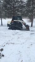 Snow plowing       Snow removal