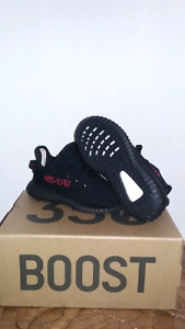 Infant size 9k adidas yeezy 350 boost v2 bred