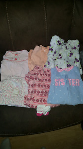 Lot of Baby Girl Clothes (Newborn to 6M)