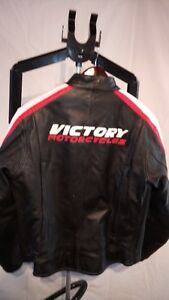 Victory Leather Motorcycle Jacket Women's XL
