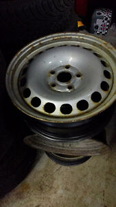 Set of 4 rims 5 x 112