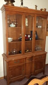 Dining table/5 chairs and china cabinet buffet Kawartha Lakes Peterborough Area image 4