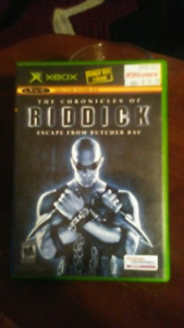 NEW Xbox original Riddick for sale.