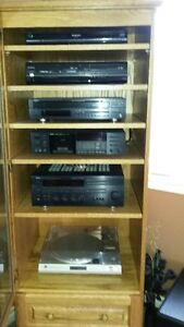 stereo cabinet  ( BEST OFFER ) London Ontario image 2