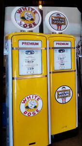 Vintige gas Pumps