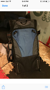 Excellent condition wheeled duffel bag