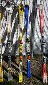 Skis Atomic-Rossignol-Volant- Fischer-Salomon 20$ à 100$