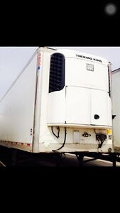 Tri-axle and Tandems Reefer for sale.