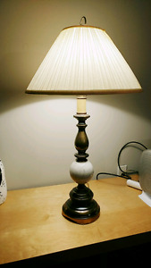 White Table Lamp On SALE till March 29