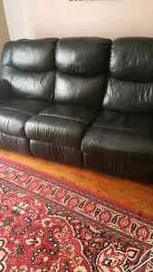 Leather Reclining Couch MUST GO!!
