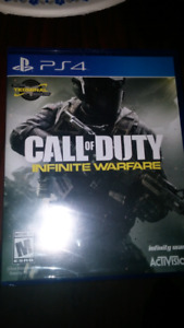 Cod INFINITE WARFARE -ps4-  NEW in box