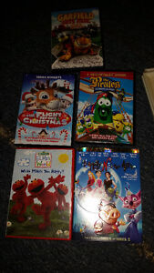 Kids DVD's ALL for $5