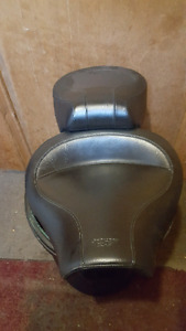 Mustang seat for a Harley