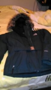 $200 North Face Medium Women's Mid down-filled Jacket w / hood