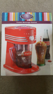 New coca cola frozen beverage station