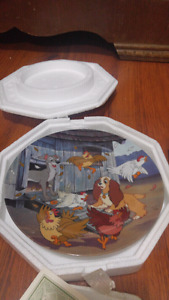Ruff House -Lady And The Tramp Collector Plate