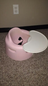 Pink Bumbo with Tray