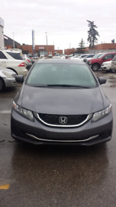 2015 Honda civic.automatic.EX.finance available