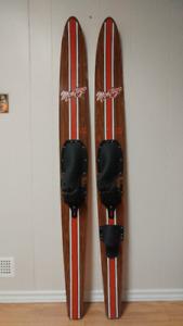 Vintage Water Skis (Circa 1970's)