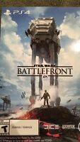 Star Wars Battlefront PS4 BRAND NEW