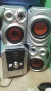 Panasonic CD Stereo System,   $75.00 or OBO