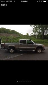 2006 GMC Sierra Crew Cab - 7.5ft Diamond Plow - Reduced to Sell