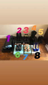 Marciano,Michael kors,nine west shoes all with boxes each $15