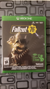 Fallout 76 - Xbox One (New/Neuf)