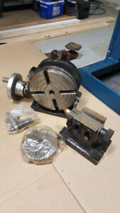 ROTARY TABLE 6IN. C/W TAIL STOCK/INDEXING